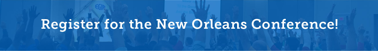Register for the New Orleans Conference!