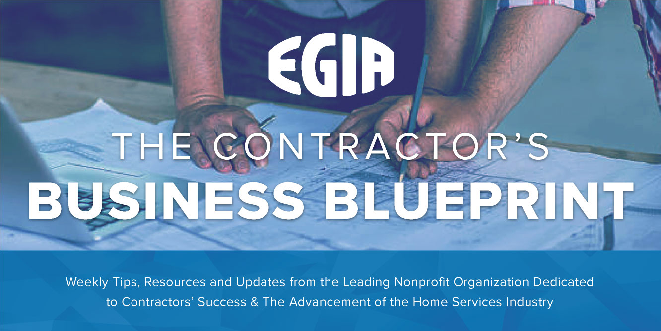 EGIA Contractor University Weekly Update