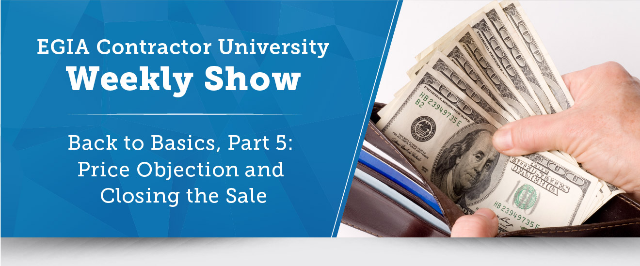 EGIA Contractor University Weekly Show